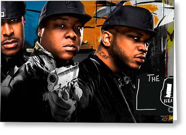 Lox Greeting Cards - The Lox Money Power Respect Greeting Card by Isis Kenney