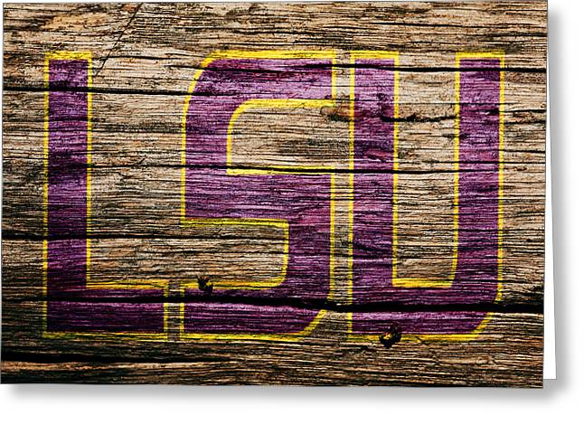 The Lsu Tigers 1a Greeting Card by Brian Reaves