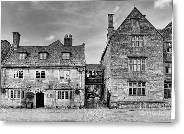 Worcester Greeting Cards - The Lygon Arms Broadway Worcestershire UK Greeting Card by John Edwards