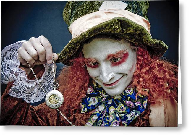 Mad Hatter Photographs Greeting Cards - The Mad Hatter Greeting Card by Mick House