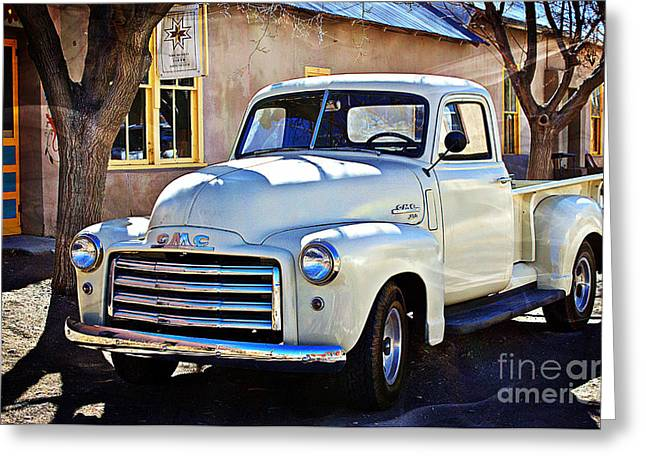 Barbara Chichester Digital Greeting Cards - The Magic of the 1949 GMC 100 Greeting Card by Barbara Chichester