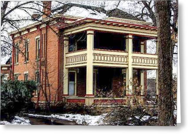 Ft Collins Greeting Cards - The Mansion Greeting Card by Gary Freeman