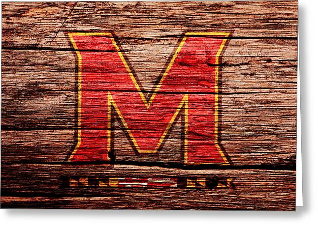 The Maryland Terrapins 1a Greeting Card by Brian Reaves