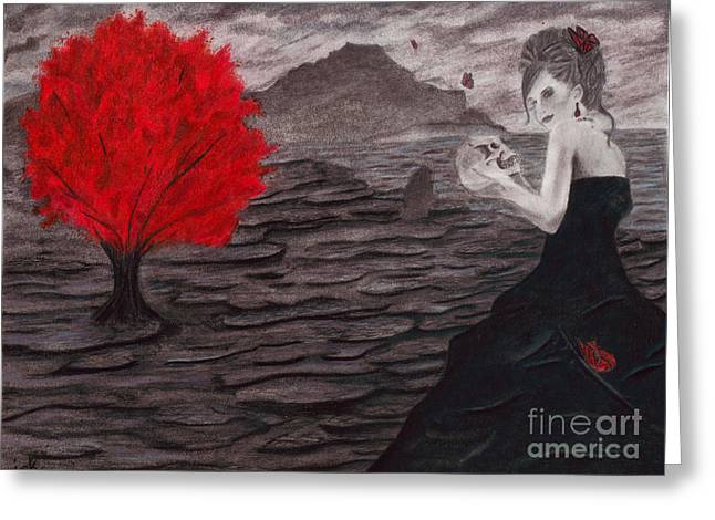 The Memory Keeper Greeting Card by Courtney Herz