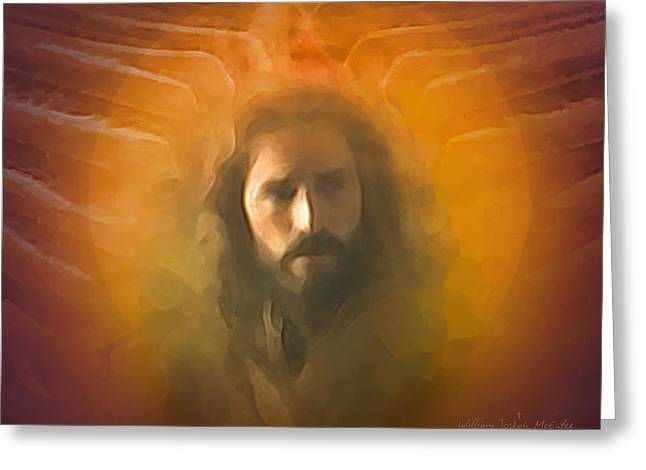 The Messiah Greeting Card by Bill McEntee
