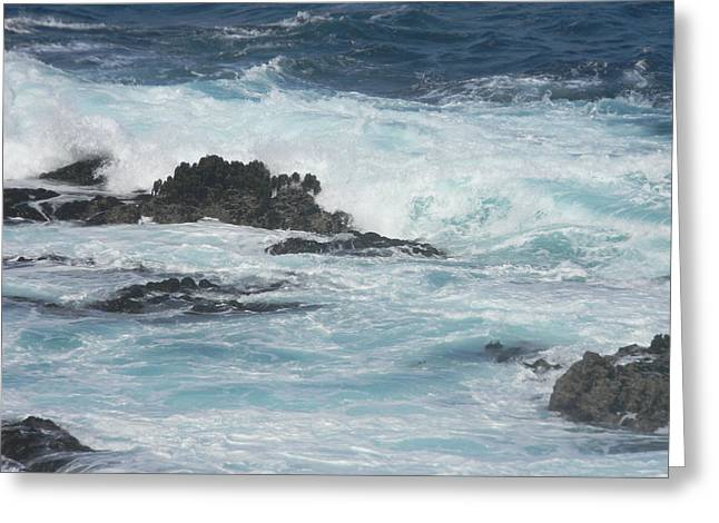 Big Sur Greeting Cards - The Mighty Big Sur Greeting Card by Arlene Price