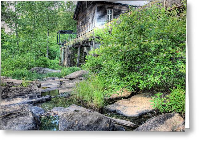 Saw Greeting Cards - The Mill Greeting Card by JC Findley
