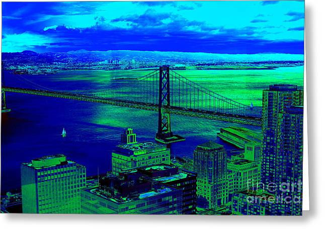 Landscape Framed Prints Greeting Cards - The Millennium Greeting Card by PlusO FineArt