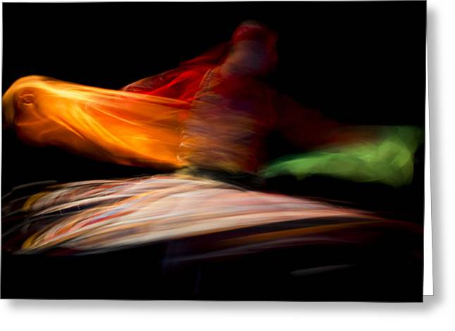 Dancer Photographs Greeting Cards - The Mirror Of Soul Greeting Card by Mahmoud Fayed