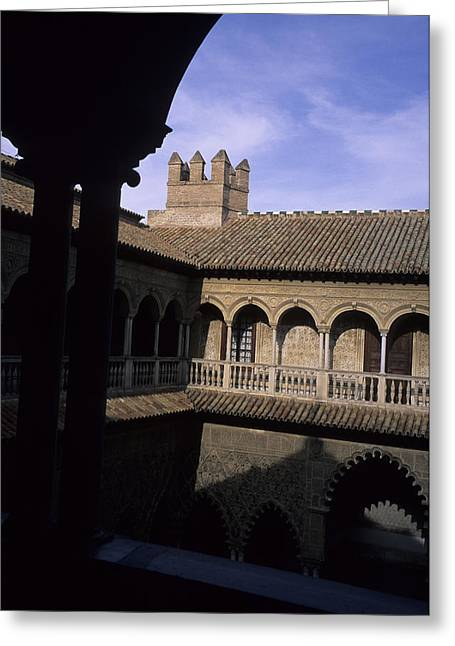 Eu Greeting Cards - The Moorish Palace Of The Alhambra Greeting Card by Taylor S. Kennedy