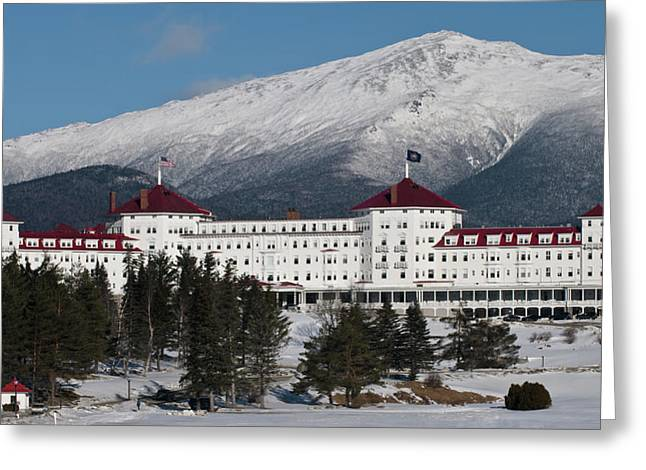 The Mount Washington Hotel Greeting Cards - The Mount Washington Hotel Greeting Card by Paul Mangold