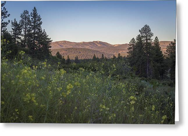 Amazing Sunset Greeting Cards - The Mountains Are Calling Greeting Card by Jeremy Jensen