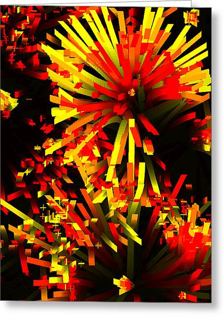 Top Selling Digital Art Greeting Cards - The new beginings Greeting Card by Hengameh Kaghazchi