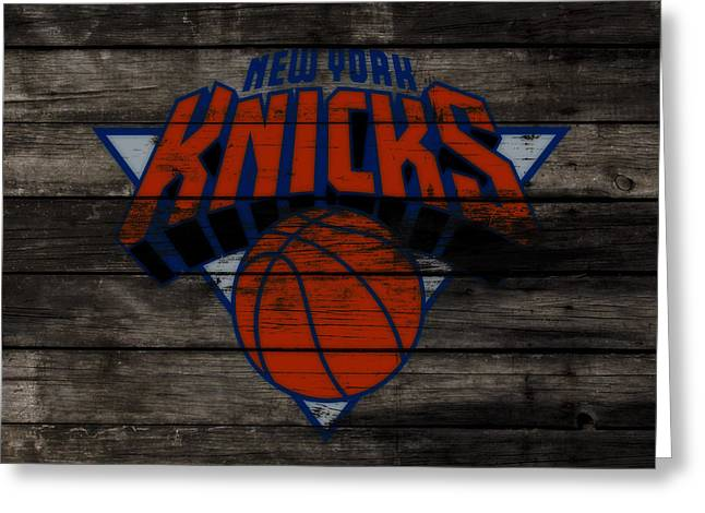 The New York Knicks 3f                       Greeting Card by Brian Reaves