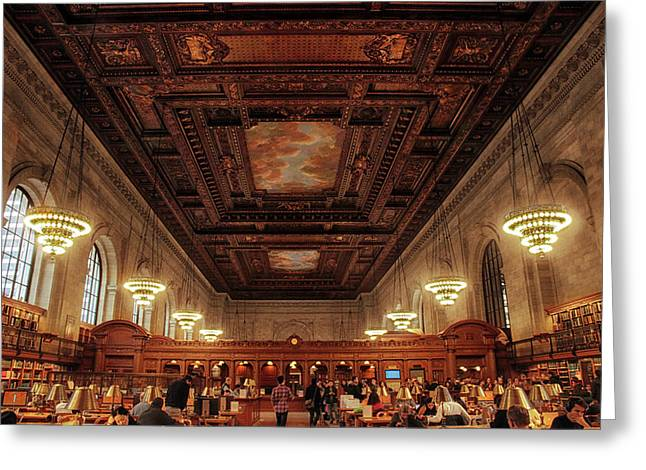 The New York Public Library Greeting Card by Jessica Jenney