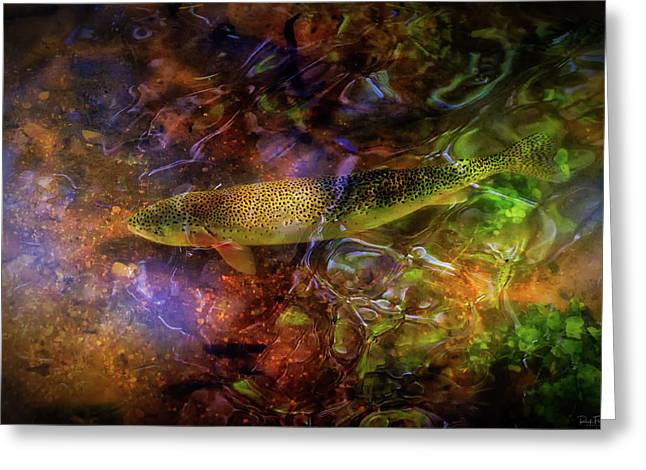 Rainbow Trout Greeting Cards - The Next Best Thing Greeting Card by Rick Furmanek
