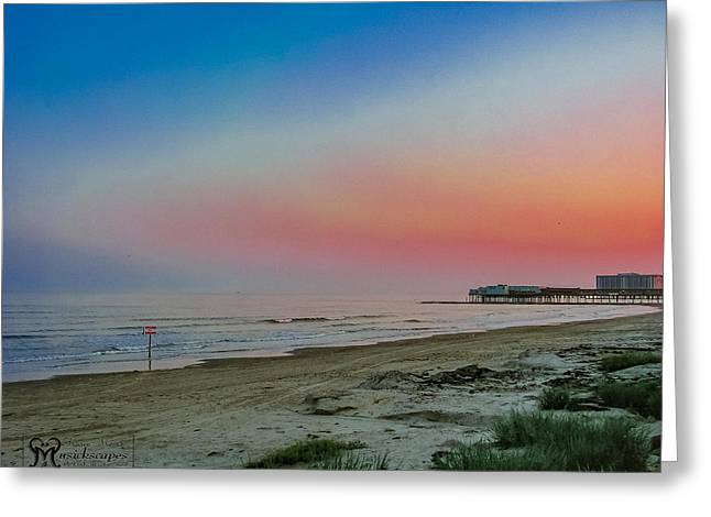 Galveston Greeting Cards - The Night Before Rita Greeting Card by Karen Musick