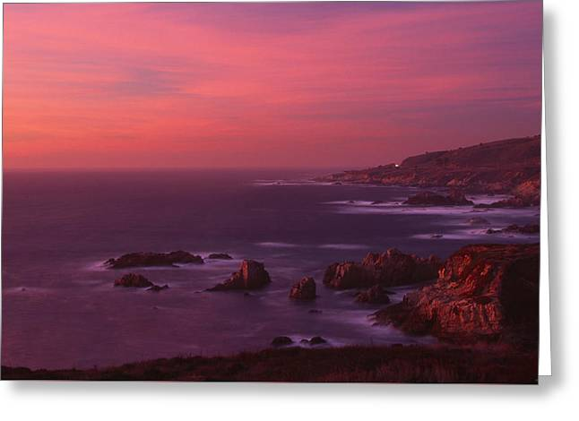 The North Coast - Highway One Greeting Card by Soli Deo Gloria Wilderness And Wildlife Photography