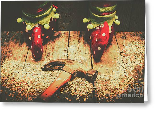 The North Pole Toy Factory Greeting Card by Jorgo Photography - Wall Art Gallery