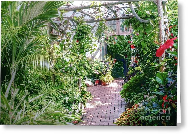 Biltmore Greeting Cards - The Nursery at Biltmore Greeting Card by David Bearden