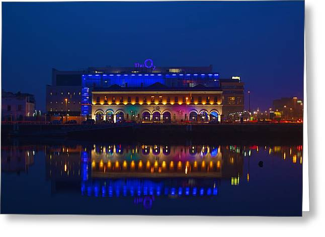 Theater Greeting Cards - The O2 of Dublin Greeting Card by Pixels