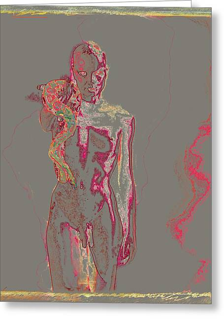 Lanvin Greeting Cards - The Offer / 2 Greeting Card by Jean-Marie Bottequin