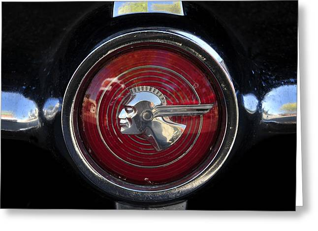1953 Pontiac Greeting Cards - The Old Chieftain Greeting Card by David Lee Thompson