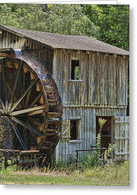 Grist Mill Greeting Cards - The Old Grist Mill Greeting Card by Katie Abrams