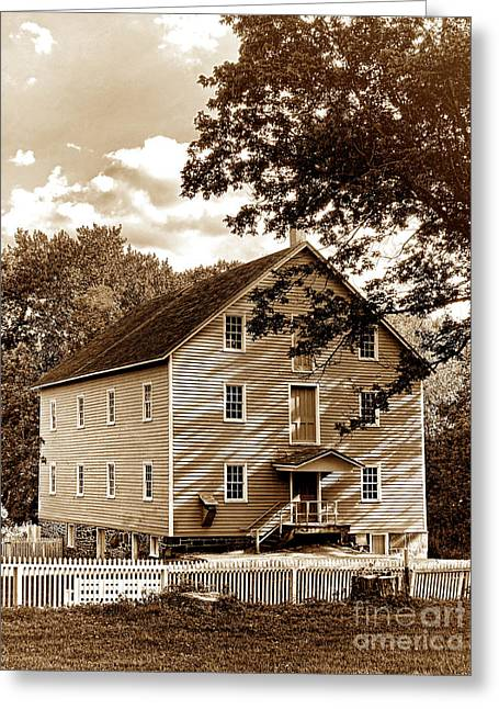 Old Mills Photographs Greeting Cards - The Old Gristmill  Greeting Card by Olivier Le Queinec