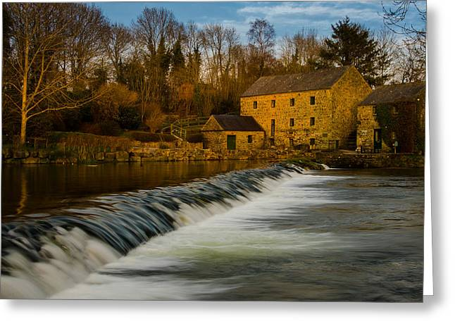 Ireland Greeting Cards - The Old Mill Greeting Card by Fergal Gleeson