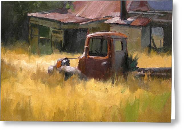 Old Shack Greeting Cards - The Old Mill House Greeting Card by Richard Robinson