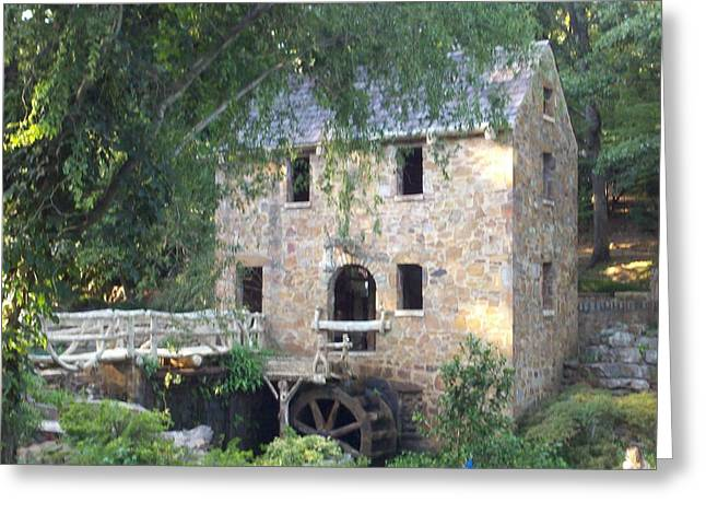 Arkansas Greeting Cards - The Old Mill in the Summer Greeting Card by Regina Strehl