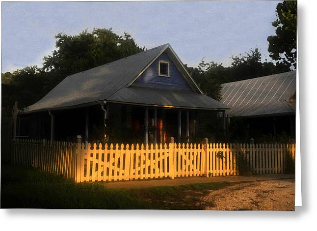 Tin Roof Greeting Cards - The old neighborhood Greeting Card by David Lee Thompson