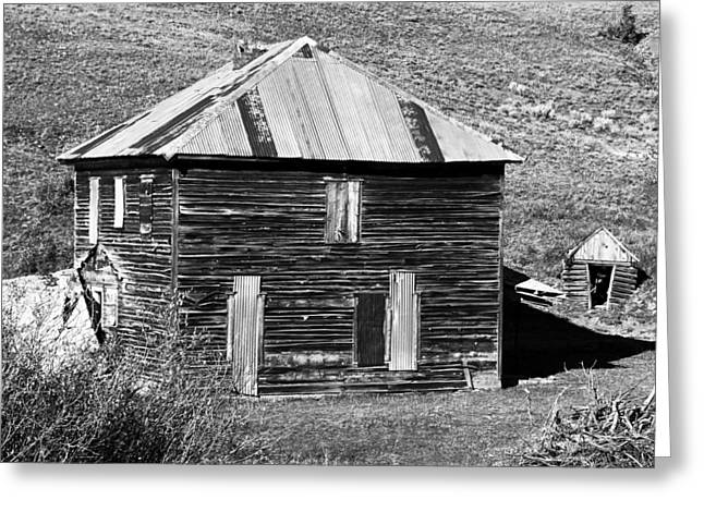 Ranch Home Greeting Cards - The Old Place Greeting Card by David Lee Thompson