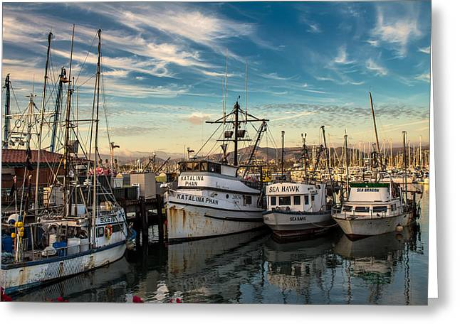 Ventura California Greeting Cards - The Old School Home to Rest Greeting Card by Danny Goen