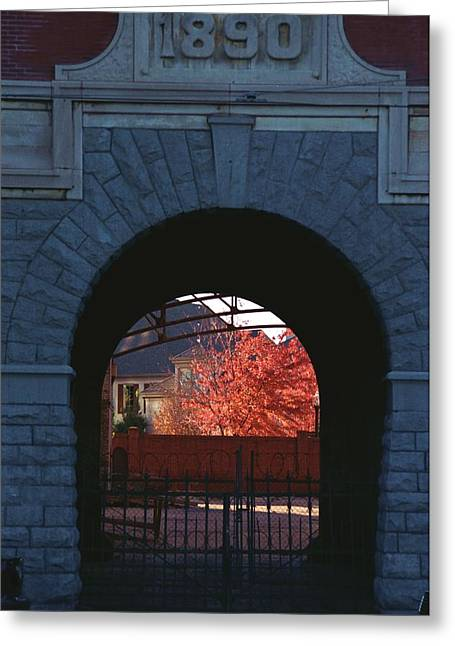Tennessee Landmark Greeting Cards - The Old Tennessee Brewery Greeting Card by Bob Guthridge