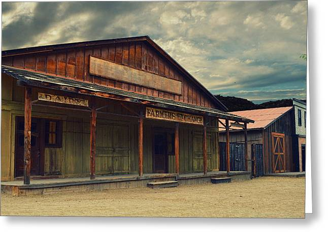 Ventura California Greeting Cards - The Old West - Paramount Ranch Greeting Card by Glenn McCarthy Art and Photography