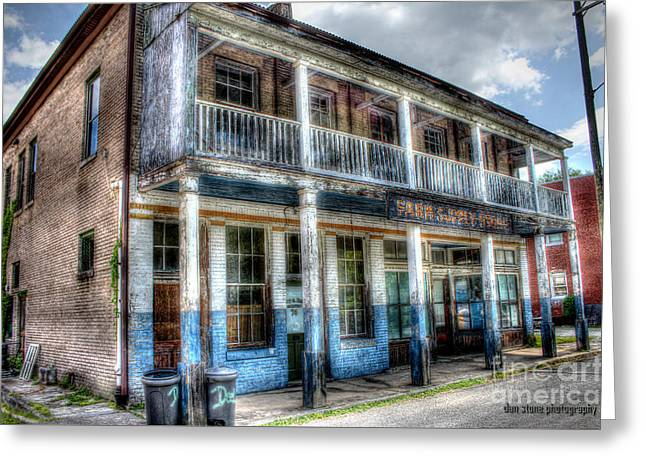 Historic Country Store Greeting Cards - The Olde Mercantile Greeting Card by Dan Stone