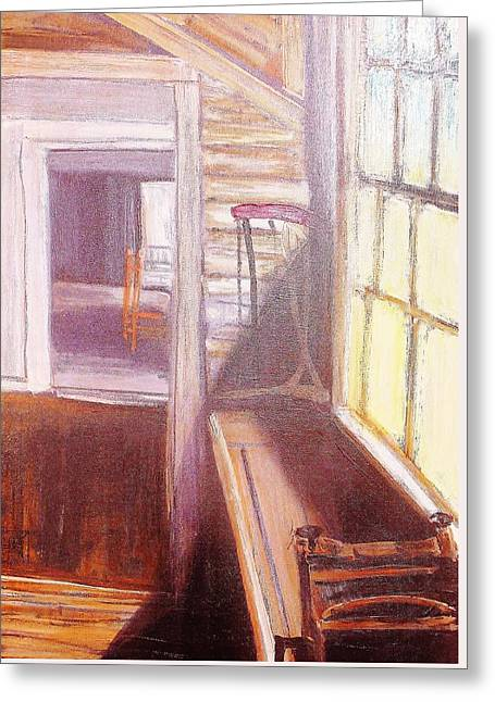 Olson House Greeting Cards - the Olson house SINK in Maine USA Greeting Card by Paul  Crimi