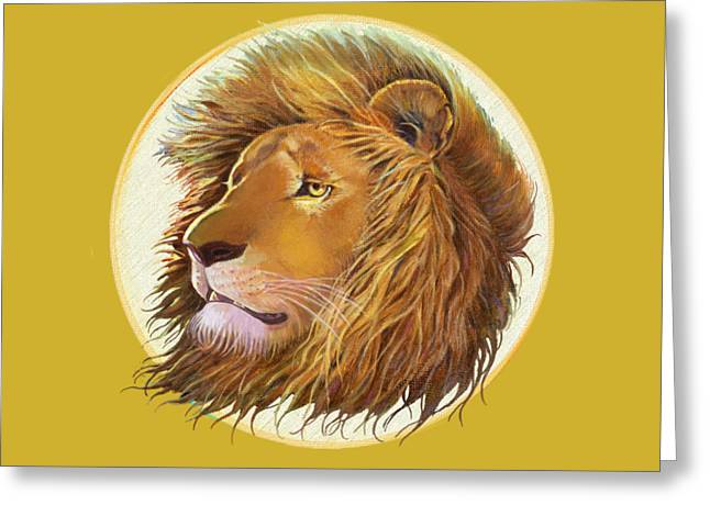 The One True King - Color Greeting Card by J L Meadows
