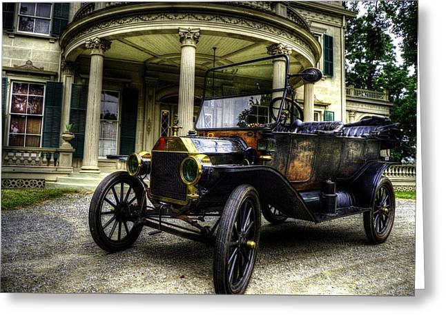 Ford Model T Car Greeting Cards - The Original Lizzy Greeting Card by Scott Harrison