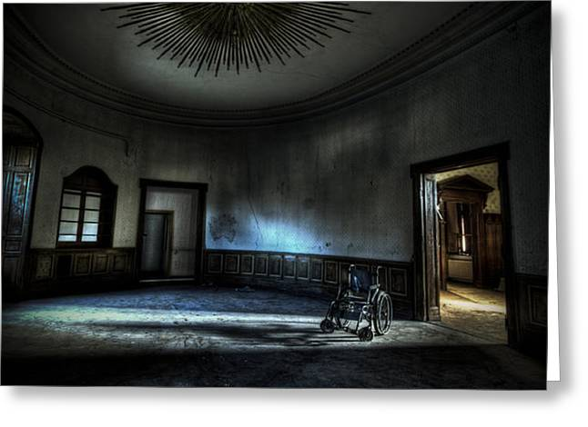 The oval star room Greeting Card by Nathan Wright