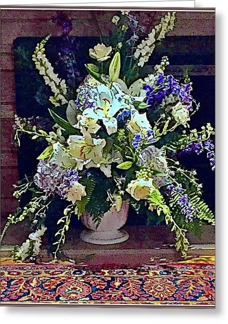 Interior Still Life Digital Art Greeting Cards - The Over Achiever Greeting Card by Mindy Newman