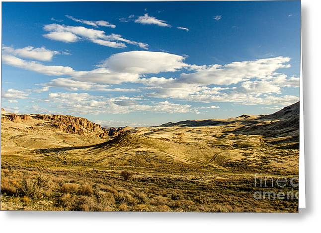The Plateaus Digital Greeting Cards - The Owyhee Desert Idaho Landscapes by Kaylyn Franks Greeting Card by Kaylyn Franks