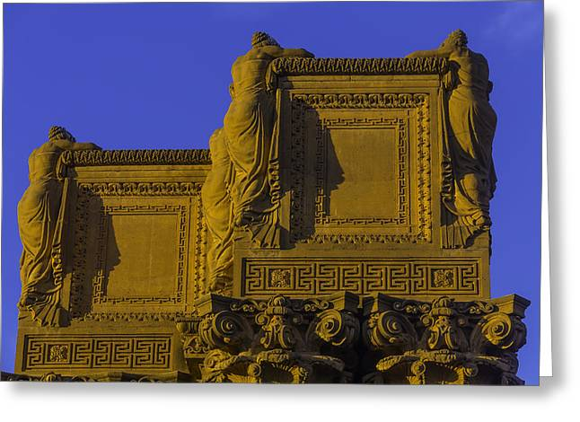 The Palace Of Fine Arts  Greeting Card by Garry Gay