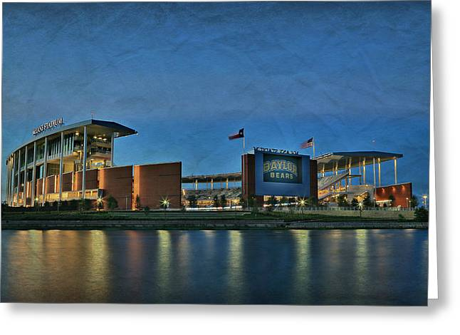 College Spirit Greeting Cards - The Palace on the Brazos Greeting Card by Stephen Stookey
