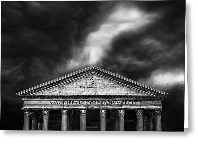 Pantheon Greeting Cards - The Pantheon Greeting Card by Erik Brede