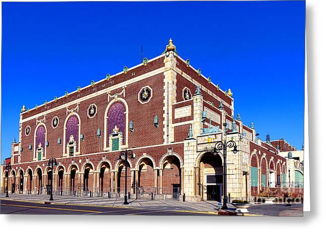 The Paramount Theater In Asbury Park Greeting Card by Olivier Le Queinec