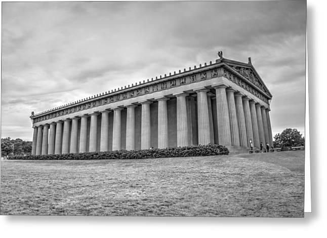The Parthenon In Nashville V3b Greeting Card by John Straton