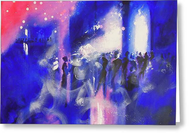 The Party Greeting Card by Neil McBride
